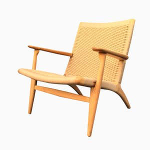 Oak CH25 Chair by Hans J Wegner for Carl Hansen & Son