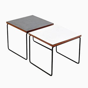Side Tables by Pierre Guariche for Steiner, 1950s, Set of 2