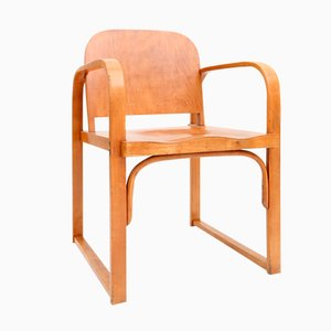 Vintage Czech Plywood Chair from Tatra