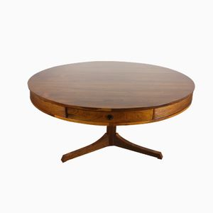 Rosewood Drum Table by Robert Heritage for Archie Shine, 1960