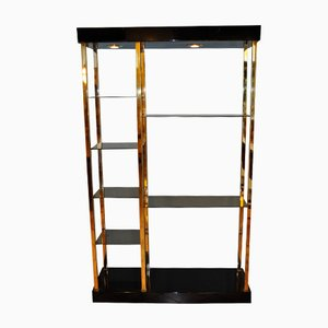 Gilded Brass Etagere, 1970s