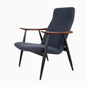 Vintage Scandinavian Teak Lounge Chair by Olli Borg for Asko