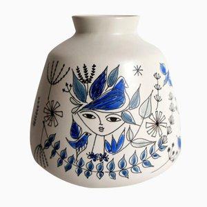 Kleine Vase von Inger Waage für Stavangerflint, 1960