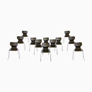 Dutch Stacking Chairs from Galvanitas, 1970s, Set of 14