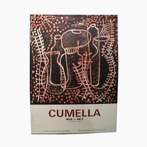 Cumella Dau al Set Gallery Barcelona Ausstellungsposter, 1974