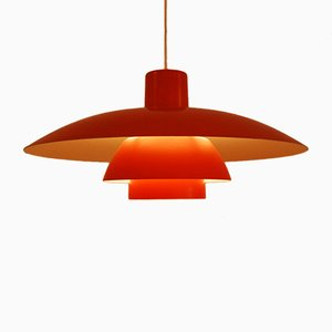 Orange PH 4/3 Pendant by Poul Henningsen for Louis Poulsen