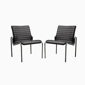 Model 703 Easy Chairs by Kho Liang Ie for Stabin, 1968, Set of 2