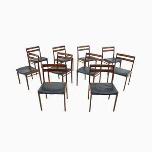 Stühle von Henry Rosengren Hansen für Brande Møbelindustri, 1960er, 10er Set