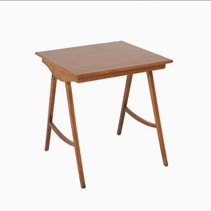 Scandinavian Teak Side Table, 1960s