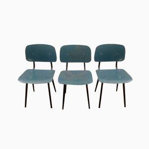 Revolt Stühle von Friso Kramer für Ahrend de Cirkel, 1954, 3er Set