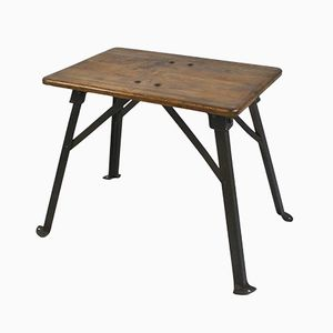 Hungarian Industrial Side Table