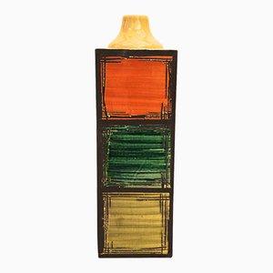 Glasierte Vase aus Keramik von Guido Bitossi & Figli, circa 1970