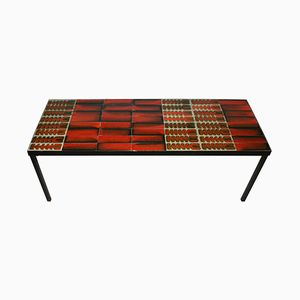 Table Basse en Céramique par Roger Capron, 1960s