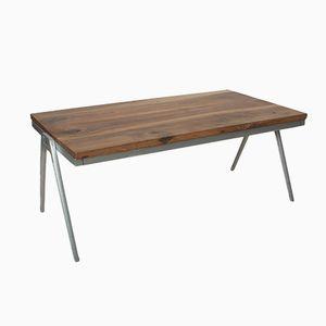 Vintage Solid Walnut Coffee Table