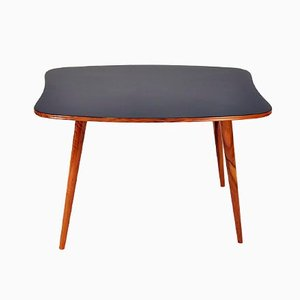 Austrian Walnut & Formica Side Table, 1950s