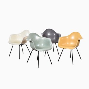 DAX Dining Chairs by Charles and Ray Eames for Herman Miller, Set of 4