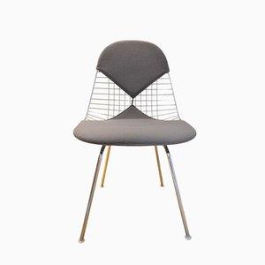 Bikini Stuhl mit Verchromten Drahtgestell von Charles & Ray Eames für Vitra