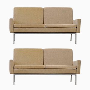 Mid-Century Model 27 BC 2-Seater Sofas by Florence Knoll Bassett for Knoll International, Set of 2