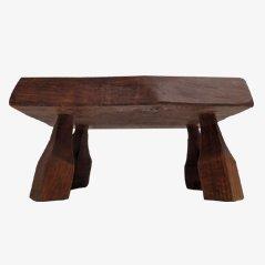 Tavolino vintage in quercia