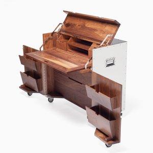 The Crates Writing Desk by Naihan Li