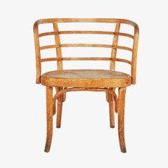 Beech Wood Armchair by Josef Frank for Thonet, 1930s