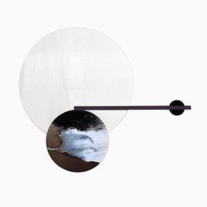 Balance-Mirror No. 07 with Shelf by Elisa Strozyk