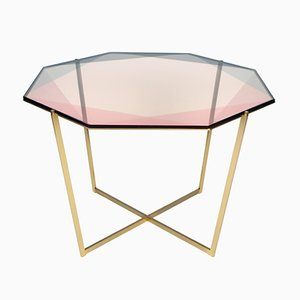 Octagonal Gem Dining Table by Debra Folz Design
