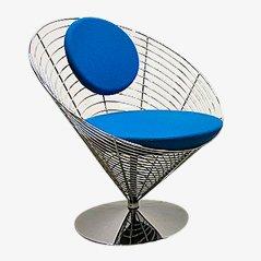 Wire Cone Chair von Verner Panton für Fritz Hansen