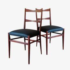 Mid-Century Danish Dining Chairs, 1950s, Set of 2
