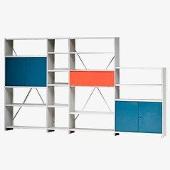 Système d'Etagères Murales XL Stabilux par Friso Kramer pour Ahrend Cirkel