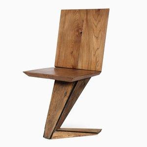 Sedia EMC in legno di Enrico Marone Cinzano