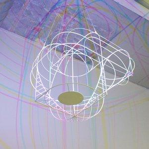 CMYK Big Lamp by Dennis Parren