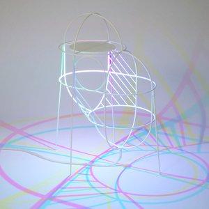 CMYK Up Lamp by Dennis Parren