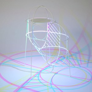 Lampe CMYK Up par Dennis Parren