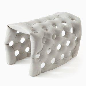 Banc Soft Concrete U-Bench par Remy & Veenhuizen