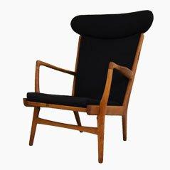AP-15 Oak Easy Chair by Hans Jørgensen Wegner for AP-Stolen