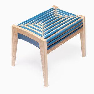 75 % Control Rectangular Stool by Dafi Reis Doron