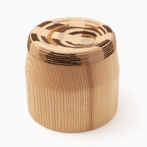 Ash CAD Weaving Jar #1 by Dafi Reis Doron