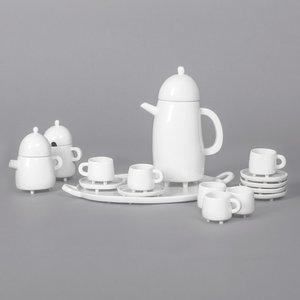 Haphazard Harmony Coffee Set by Maarten Baas