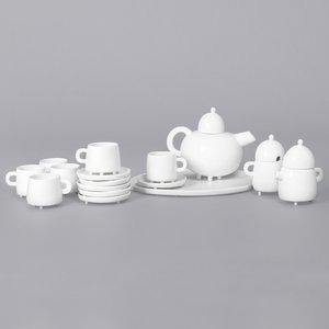 Haphazard Harmony Tea Set by Maarten Baas