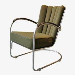 Modell 412 Sessel von W. H. Gispen für Gispen, 1930er