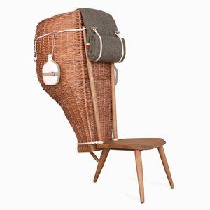 Chaise Basse Domestica par Formafantasma