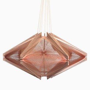 Sputnik Lampshade #10 Mono Pink von Julie Lansom