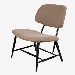 Easy Chair by Alf Svensson for Ljungs Industrier AB, 1950s