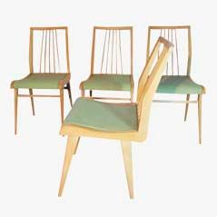 Mid-Century Chairs from Habeo/Akerblom, 1950s, Set of 4