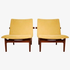 Japan Easy Chairs by Finn Juhl for France and Daverkosen, 1958, Set of 2