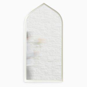 Miroir Gothic Panorami Blanc par Enrica Cavarzan, Set de 3