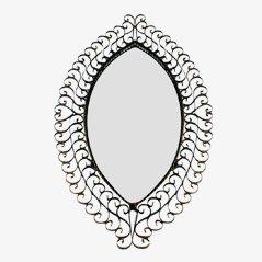 Vintage Iron Eye Mirror