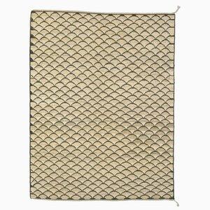 Black & Beige Fine Soumak Carpet