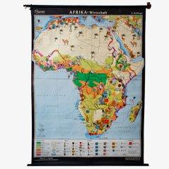 Carte de la Cultivation des Terres d'Afrique